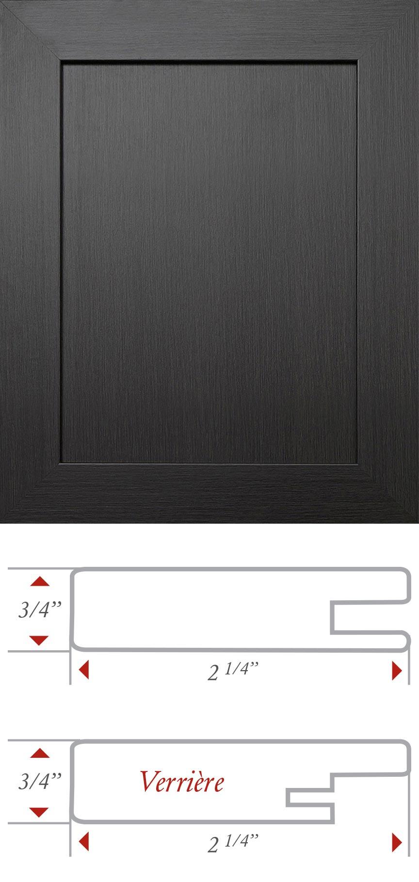 Panneau Melamine Noir Mat les portes de pcm : portes   moulures   comptoirs